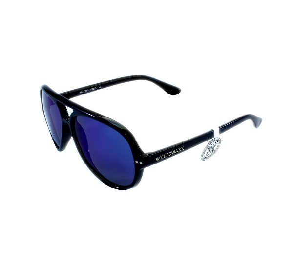 gafa de sol whitewake bandog black blue lateral