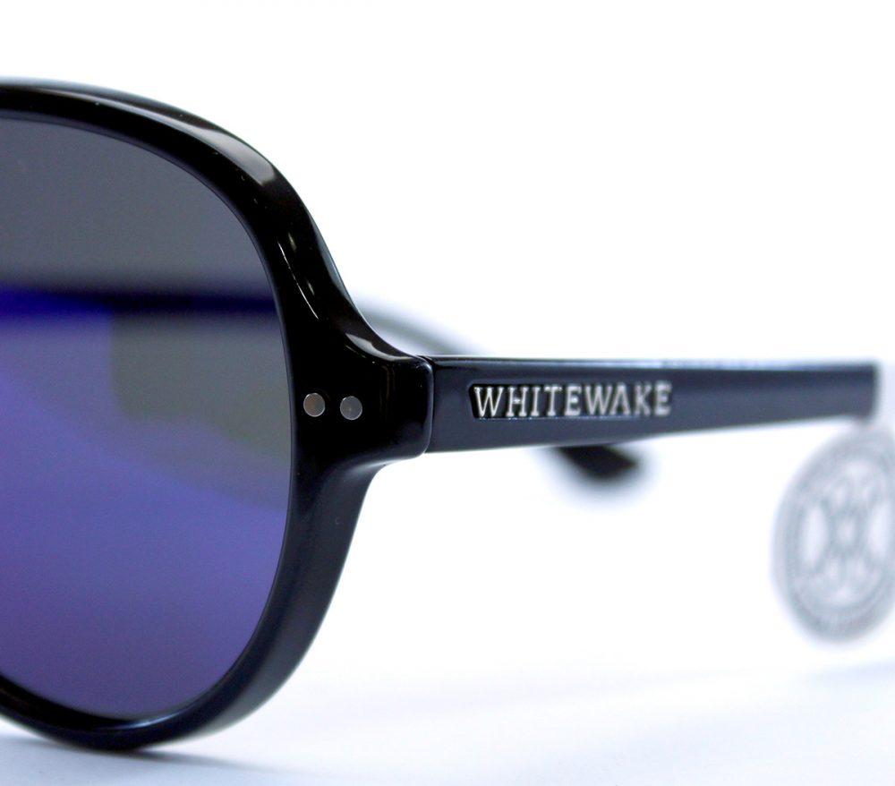 gafa de sol whitewake bandog black blue pin