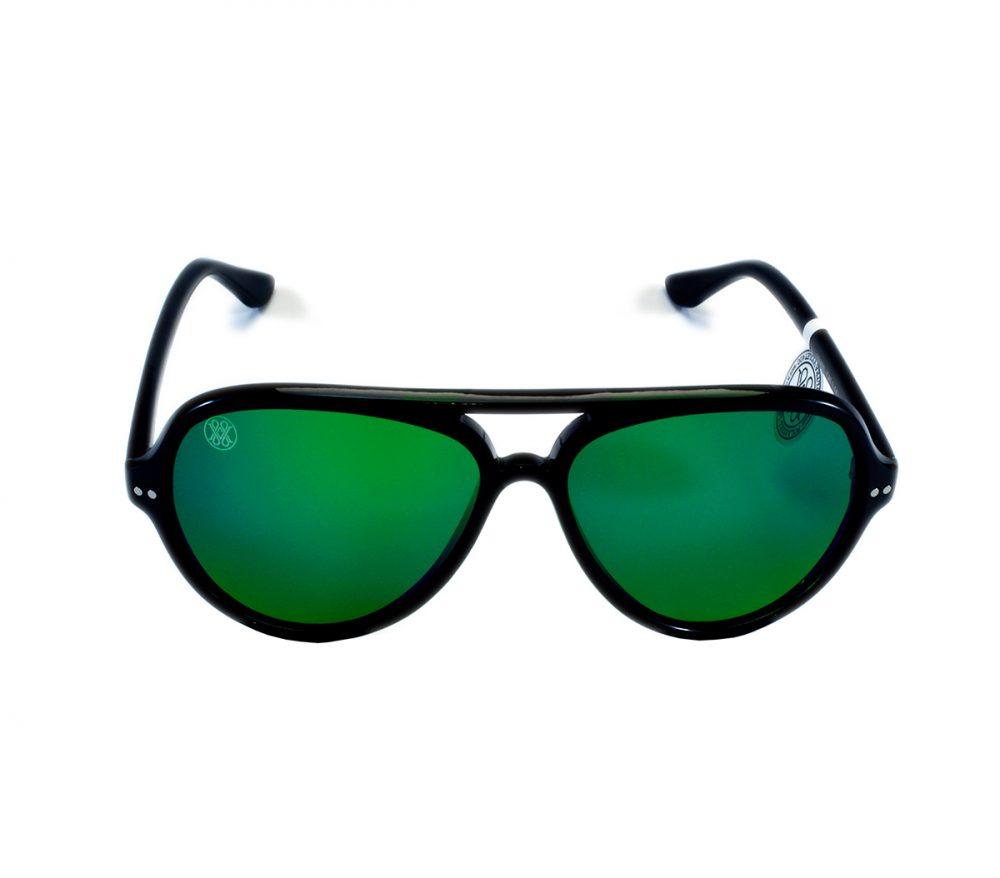 gafa de sol whitewake bandog black green
