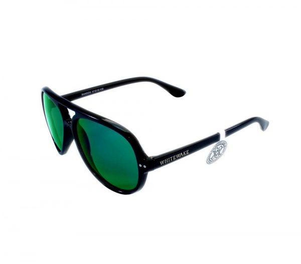 gafa de sol whitewake bandog black green lateral