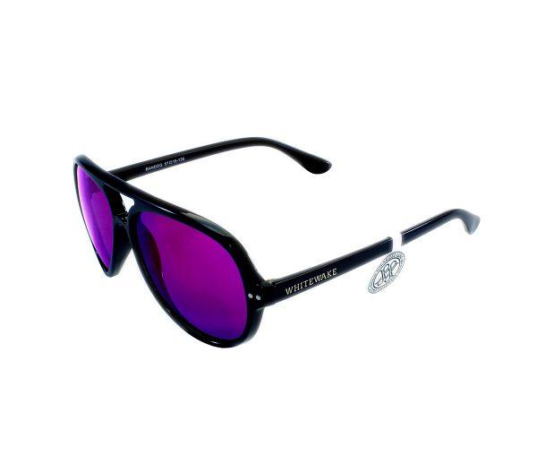 gafa de sol whitewake bandog black purple lateral