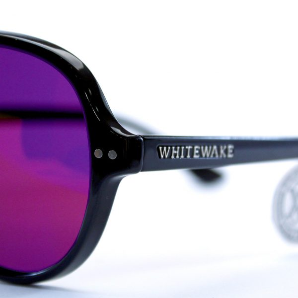 gafa de sol whitewake bandog black purple pin