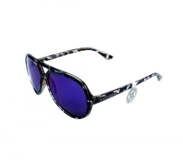 gafa de sol whitewake bandog mottle black blue lateral