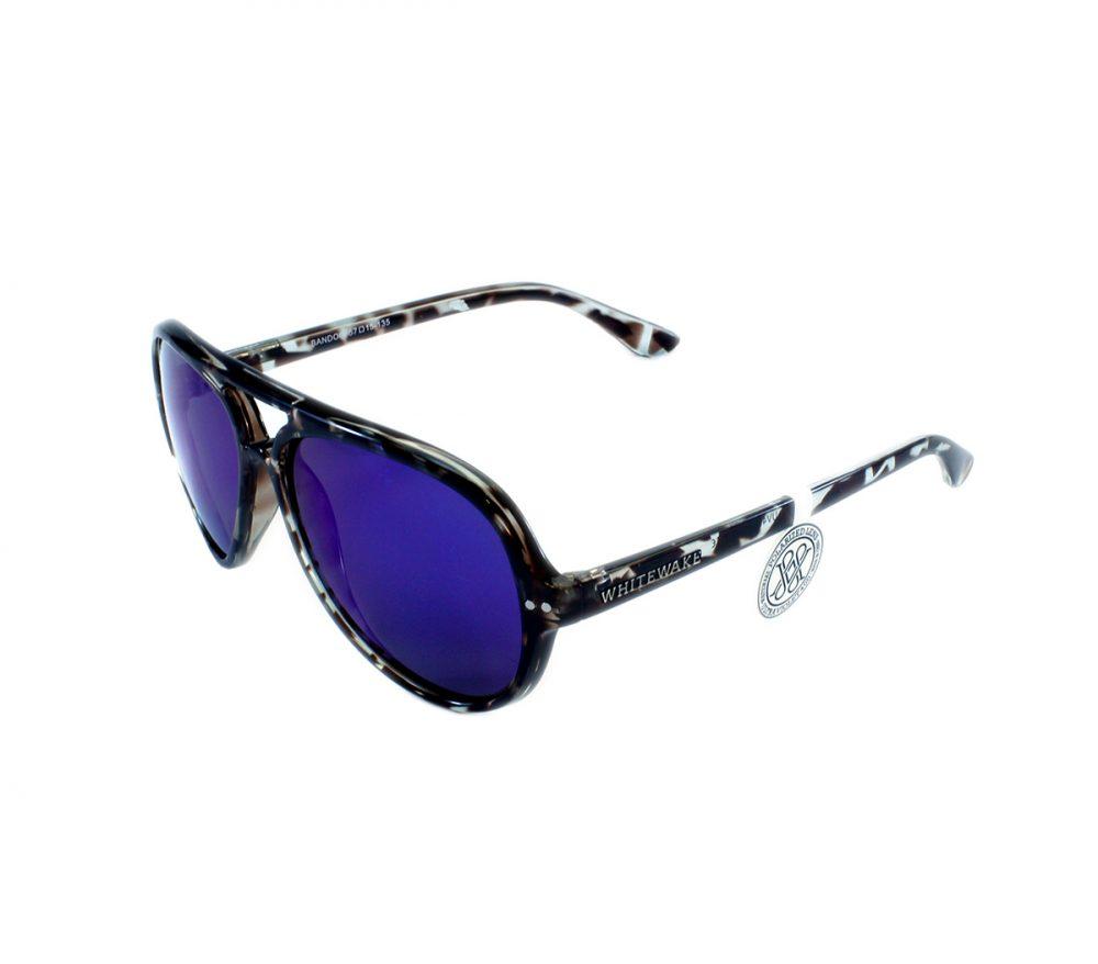 Gafa de sol Whitewake modelo Bandog moteada Black Blue