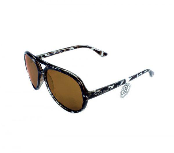 gafa de sol whitewake bandog mottle black brown lateral