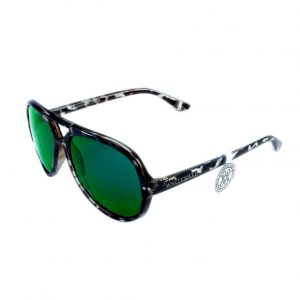Gafa de sol Whitewake modelo Bandog moteada Black Green