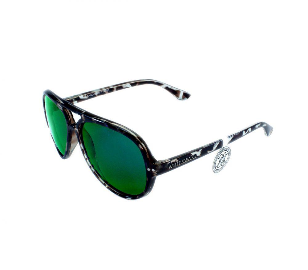 Gafa de sol Whitewake modelo Bandog moteada Black Green