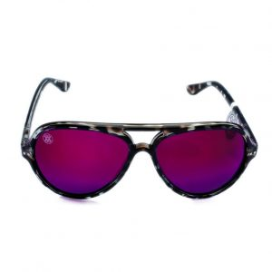gafa de sol whitewake bandog mottle black purple
