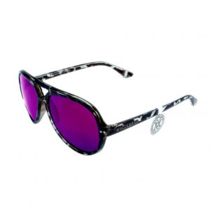 Gafa de sol Whitewake modelo Bandog moteada Black Purple