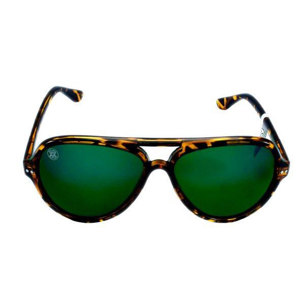 gafa de sol whitewake bandog mottle brown green