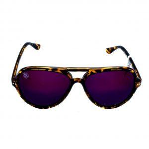 gafa de sol whitewake bandog mottle brown purple