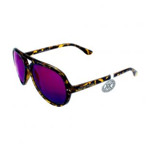 Gafa de sol modelo Bandog moteada Brown Purple