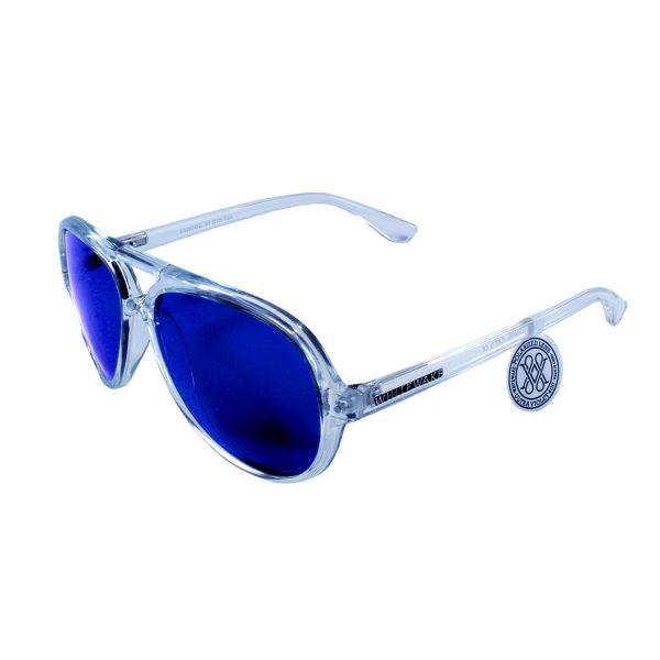 gafa de sol whitewake bandog transp blue lateral