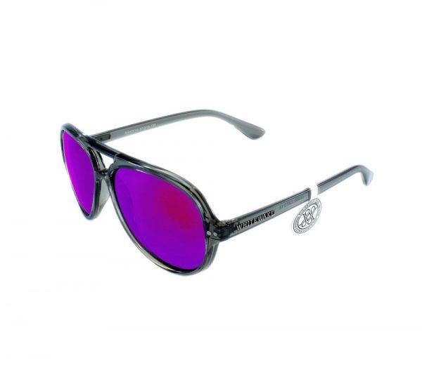 gafa de sol whitewake bandog transp gray purple lateral