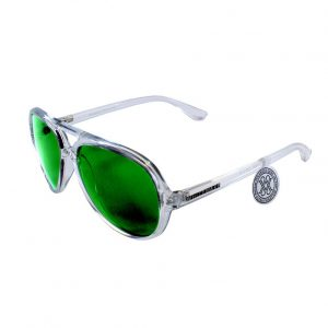 Gafa de sol modelo Bandog transparente White Green