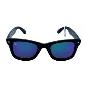 gafa de sol whitewake revolt black blue polarized front
