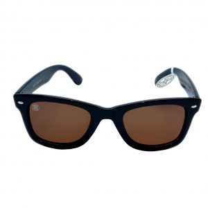 gafa de sol whitewake revolt black brown polarized front