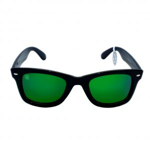 gafa de sol whitewake revolt black green polarized front
