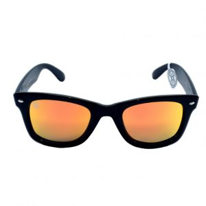 gafa de sol whitewake revolt black orange polarized front