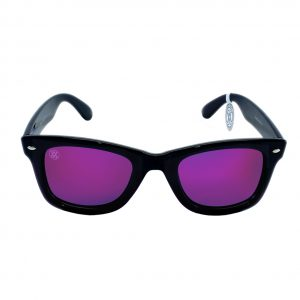 gafa de sol whitewake revolt black purple polarized front