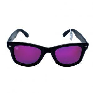 gafa de sol whitewake revolt black purple polarized front