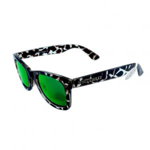 Gafa de sol Whitewake policarbonato Mottle Black Green Polarized