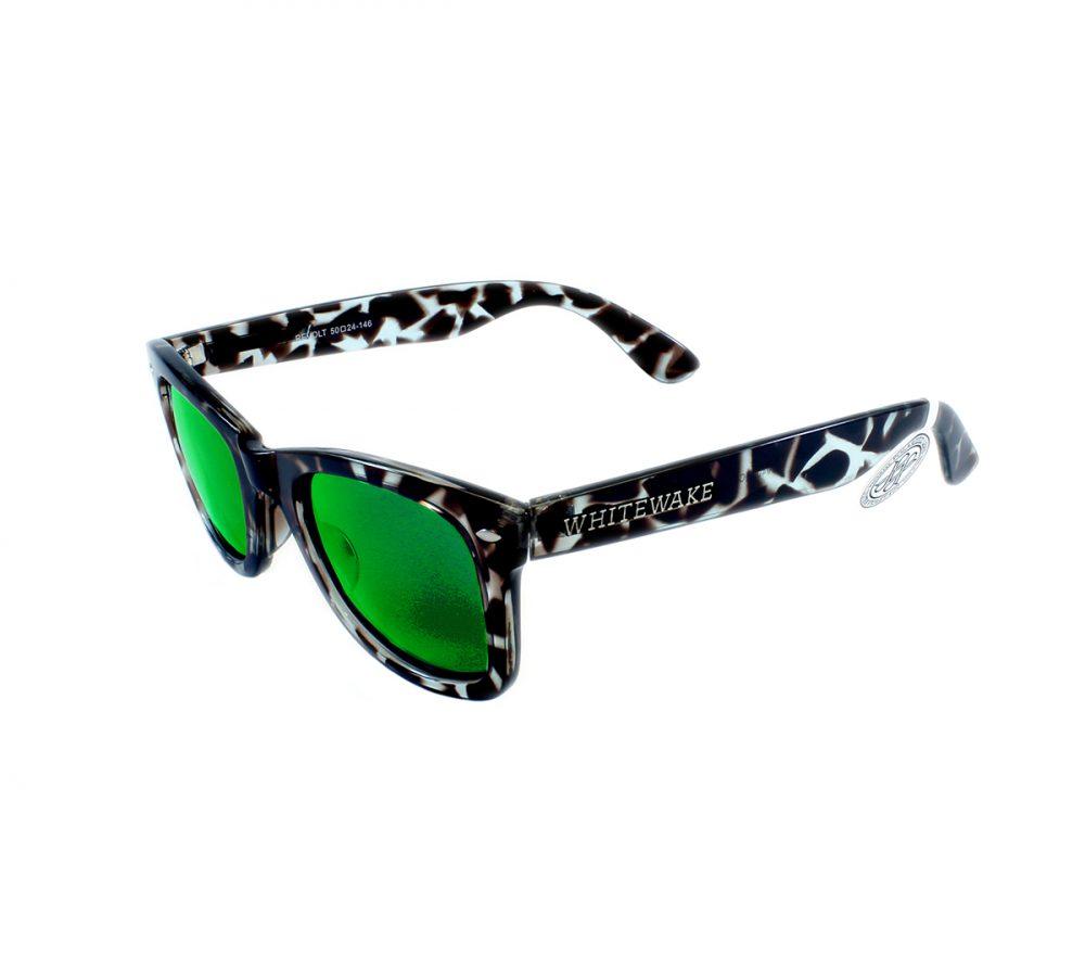 Gafa de sol Whitewake policarbonato Mottle Black Green Polarized