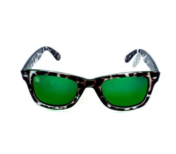 gafa de sol whitewake revolt mottle black green polarized front