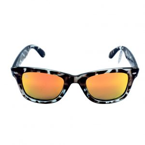 gafa de sol whitewake revolt mottle black orange polarized front