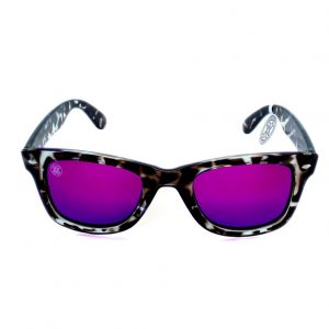gafa de sol whitewake revolt mottle black purple polarized front