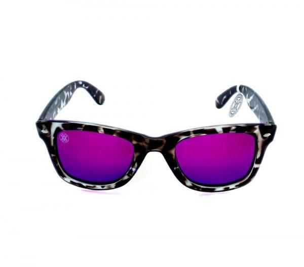 gafa de sol whitewake revolt mottle black purple polarized front