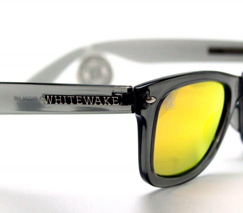 gafa de sol whitewake revolt transblack orange polarized pin