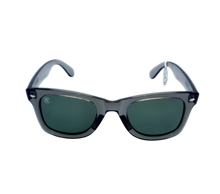 gafa de sol whitewake revolt transp gray black polarized front