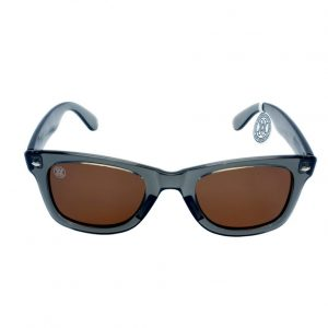 gafa de sol whitewake revolt transp gray brown polarized front