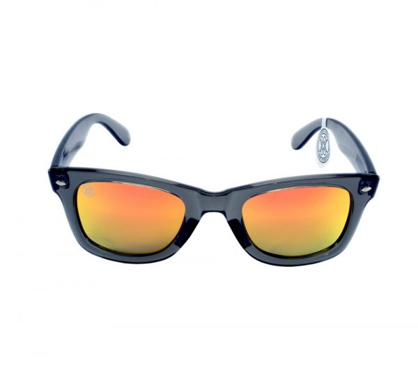 gafa de sol whitewake revolt transp gray orange polarized front