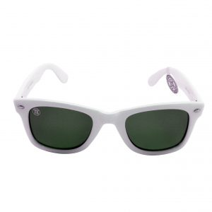 gafa de sol whitewake revolt white black polarized front
