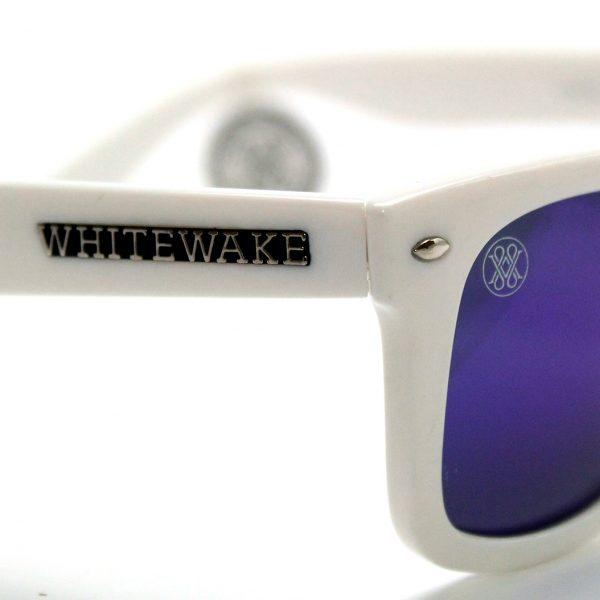 gafa de sol whitewake revolt white blue polarized pin