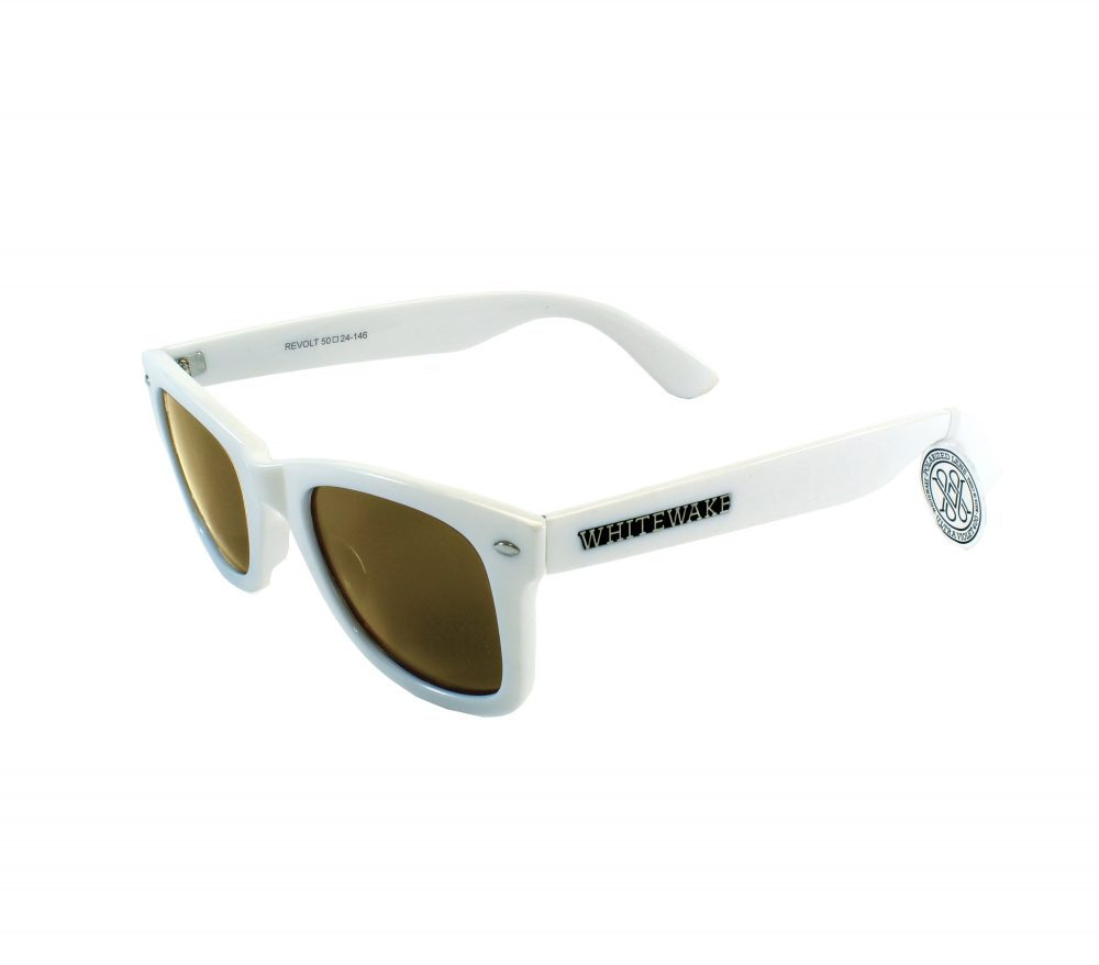 Gafa de sol Whitewake policarbonato White Brown Polarized