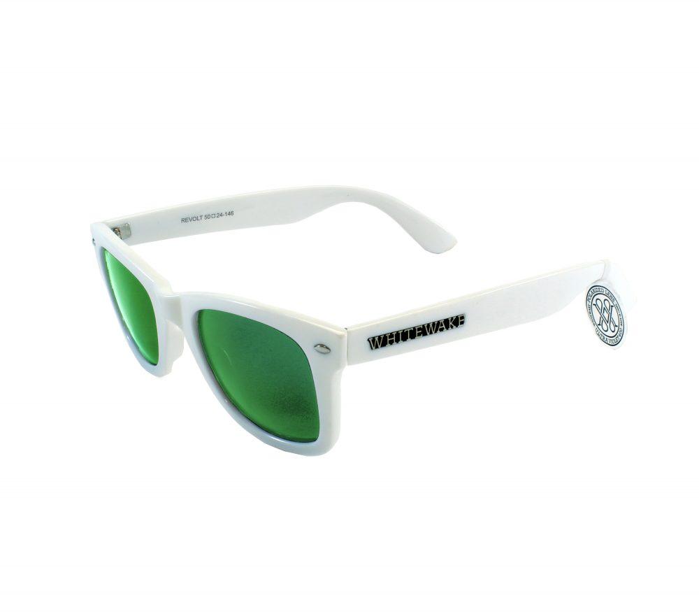 Gafa de sol Whitewake policarbonato White Green Polarized