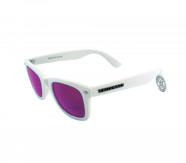 gafa de sol whitewake revolt white purple polarized