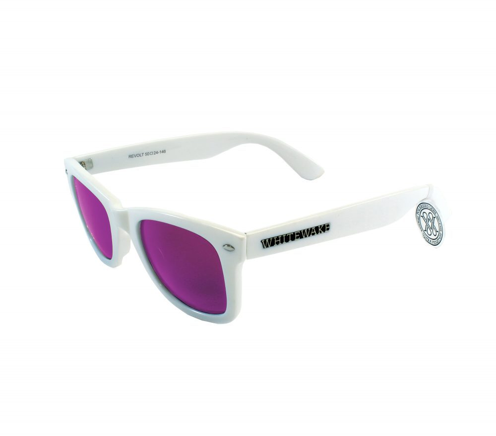 Gafa de sol Whitewake policarbonato White Purple Polarized