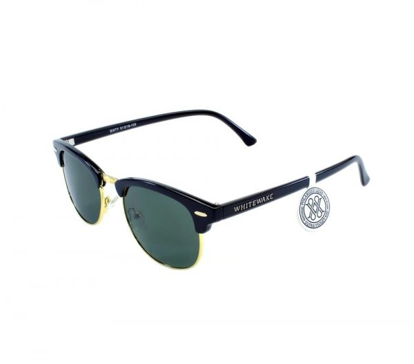 gafa de sol whitewake sixty black black polarized