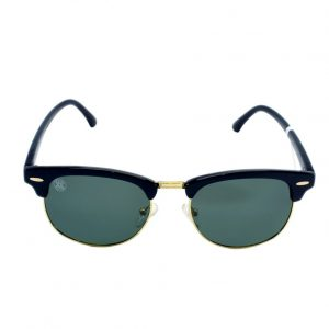 gafa de sol whitewake sixty black black polarized frente