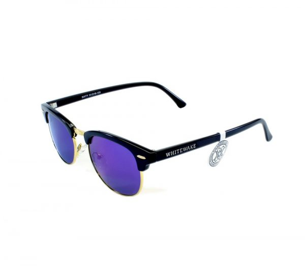gafa de sol whitewake sixty black blue polarized