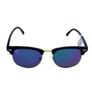 gafa de sol whitewake sixty black blue polarized frente
