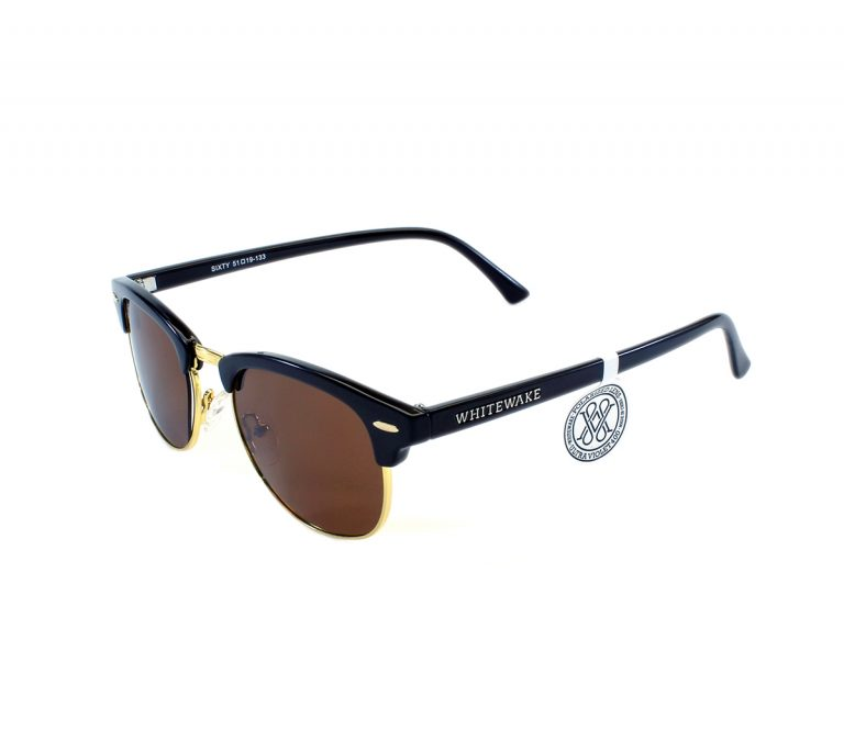 gafa de sol whitewake sixty black brown polarized