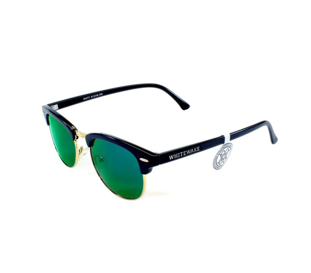Gafa de sol Whitewake montura Black lente Green polarizada