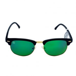 gafa de sol whitewake sixty black green polarized frente