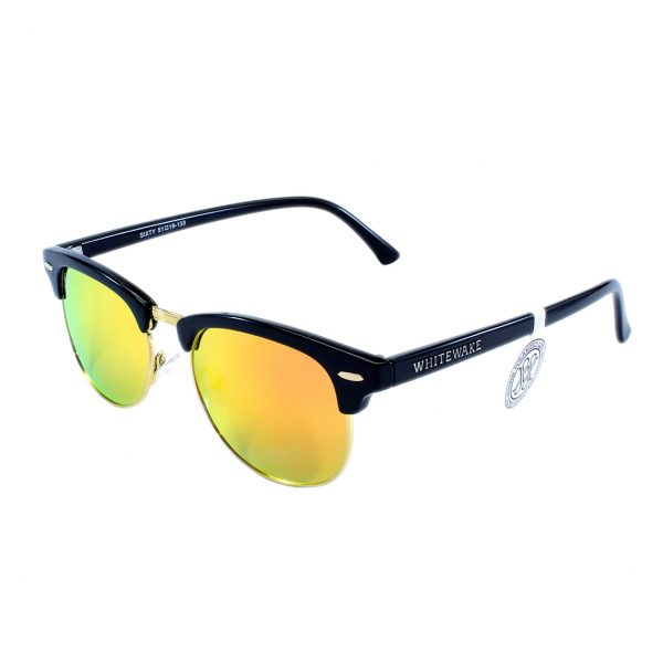 gafa de sol whitewake sixty black orange polarized