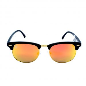 gafa de sol whitewake sixty black orange polarized frente